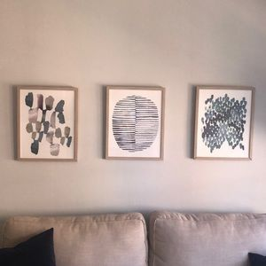 3 Framed Art Prints
